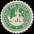 Siegelmarke Magistrat der Stadt Jerichow W0362171.jpg