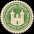 Siegelmarke Siegel des Raths der Stadt Güntersberge W0311145.jpg