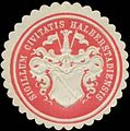 Siegelmarke Sigillum Civitatis Halberstadiensis W0348849.jpg