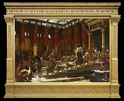 Edward Poynter: The Visit of the Queen of Sheba to King Solomon
