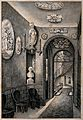 Sir John Soane's House and Museum; the hallway and stairs at Wellcome V0013538.jpg