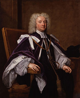 Sir Jonathan Trelawny, 3rd Baronet British bishop