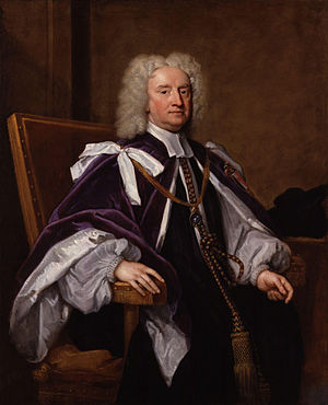 Sir Jonathan Trelawny, 3rd Baronet - Image: Sir Jonathan Trelawny, 3rd Bt by Sir Godfrey Kneller, Bt
