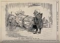 Sir Leander Jameson ill in bed being visited by Dr. Punch; s Wellcome V0011445.jpg