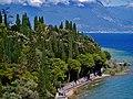 Sirmione Castello Scaligero Blick vom Mastio auf Sirmione 06.jpg