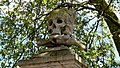Skull and crossbones on the Church of St Nicholas and St Luke, Deptford.jpg