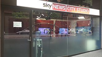 Sky News Australia - Sky News Sydney City studio in Martin Place