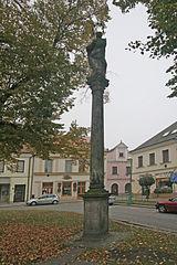 Maria column in Třebechovice pod Orebem