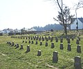 Small Gravestones, St Michael and All Angels, Princetown, Dartmoor - geograph.org.uk - 380450.jpg