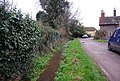 Small stream by the lane, Bossington - geograph.org.uk - 1658244.jpg
