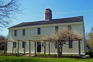 Wickford, Rhode Island - Smith's Castle, built in 1678