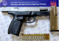 Smith & Wesson Model SW40VE pistol recovered by DC Metro Police.png