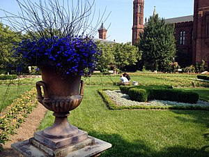 Smithsonian Gardens - Ground view of the Parterre of the Enid A. Haupt Garden