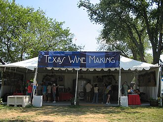 Smithsonian Folklife Festival - Image: Smithsonian Folklife Festival Texas winemaking