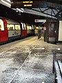 Snowy southbound platform, Golders Green Underground Station - geograph.org.uk - 1624533.jpg