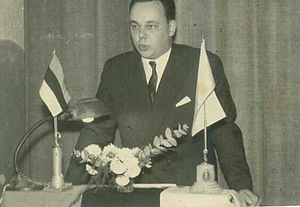 Estonian Argentines - A speech at the Estonian Society of Argentina in Buenos Aires.