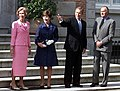 Sofia, Laura Bush, George W. Bush and Juan Carlos.jpg