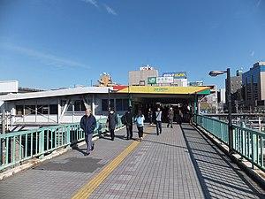 Soga Station - West exit, December 2011