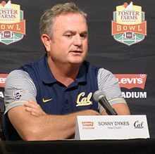 Sonny Dykes at 2016 Bay Area College Football Media Day.jpg