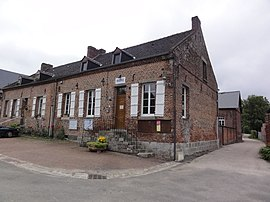 The town hall of Sorbais