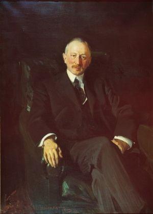 Jacques Seligmann & Company - Jacques Seligmann, portrait by Joaquín Sorolla, 1911