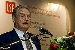 250px Soros talk in Malaysia