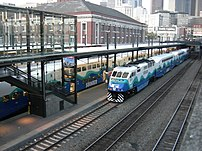Sounder Commuter Rail at King Street Station, ...