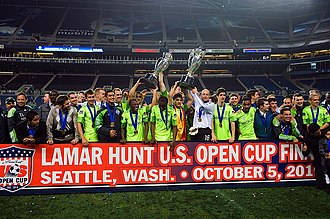 2010 U.S. Open Cup Final - Image: Sounders US Open Cup 2010