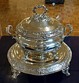 Soup Tureen, Paul Storr, British, 1820-1821, silver - Huntington Museum of Art - DSC05372.JPG