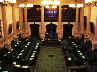 Liberal Movement (Australia) - The House of Assembly (pictured) had seven LM members while still part of the LCL, reduced to two when it split from its parent.