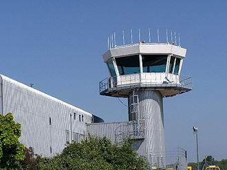 Southampton Airport - Image: Southampton Airport Control Tower geograph.org.uk 28103