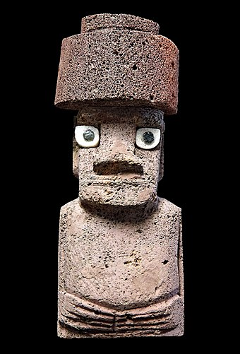 Souvenir Moai from Rapa Nui, bought at the Artisan's Market, 2020 Souvenir Moai from Easter Island, 2019.jpg