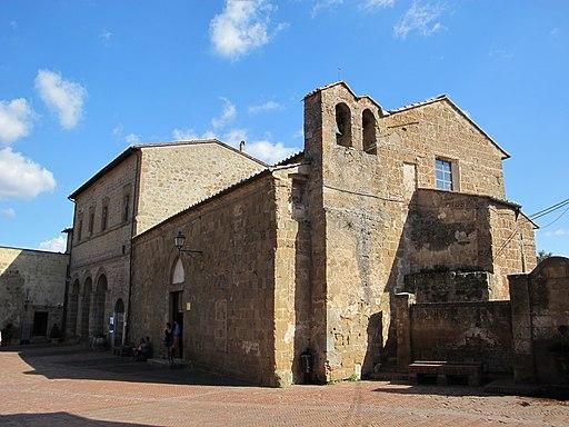 Sovana, chiesa di s. maria maggiore, ext. 01