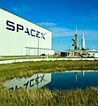 SpaceX Pad Visit for the Falcon Heavy Launch Today. (25245285537).jpg