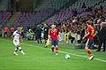 Spain - Chile - 10-09-2013 - Geneva - Arturo Vidal, Andres Iniesta and Ignacio Monreal.jpg