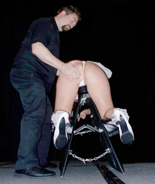 escort real bondage chair