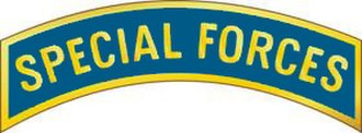 Badges of the United States Army - Image: Special Forces Tab