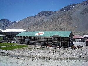 Kaza, Himachal Pradesh - Public Hospital, Kaza, 2004