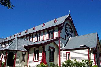 John Anderson (mayor) - St Andrews Church in 2005, located at Rangi Ruru