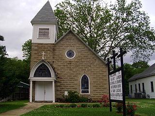 St. Lukes Catholic Church (Warren, Arkansas) United States historic place