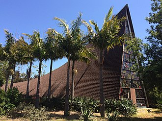 Isla Vista, California - St. Michael's Church, established in 1954, chapel built in 1963