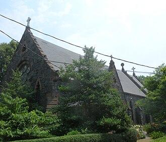 St. Paul's Memorial Church (Staten Island, New York) - St. Paul's Memorial Church, June 2010