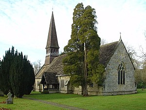 Nuthurst - Image: St Andrew's Church, Nuthurst, West Sussex geograph.org.uk 86085