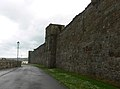 St Andrews - outer wall of the cathedral.JPG