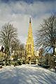 St Augustine's Church, Edgbaston in the snow.jpg