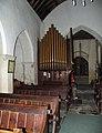 St Cadoc Llancarfan, Glamorgan, Wales - Organ - geograph.org.uk - 544647.jpg