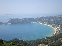 St George's beach in Corfu, Greece.jpg