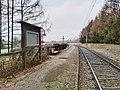 St Georgen bei Salzburg - Irlach - Lokalbahnhaltestelle Irlach - 2020 12 01-1.jpg