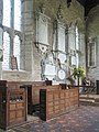 St Lawrence Church, Marston St Lawrence, Northamptonshire - Chancel wall monuments - geograph.org.uk - 827620.jpg