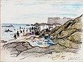 St Malo Plage de BonSecour 1914.jpg